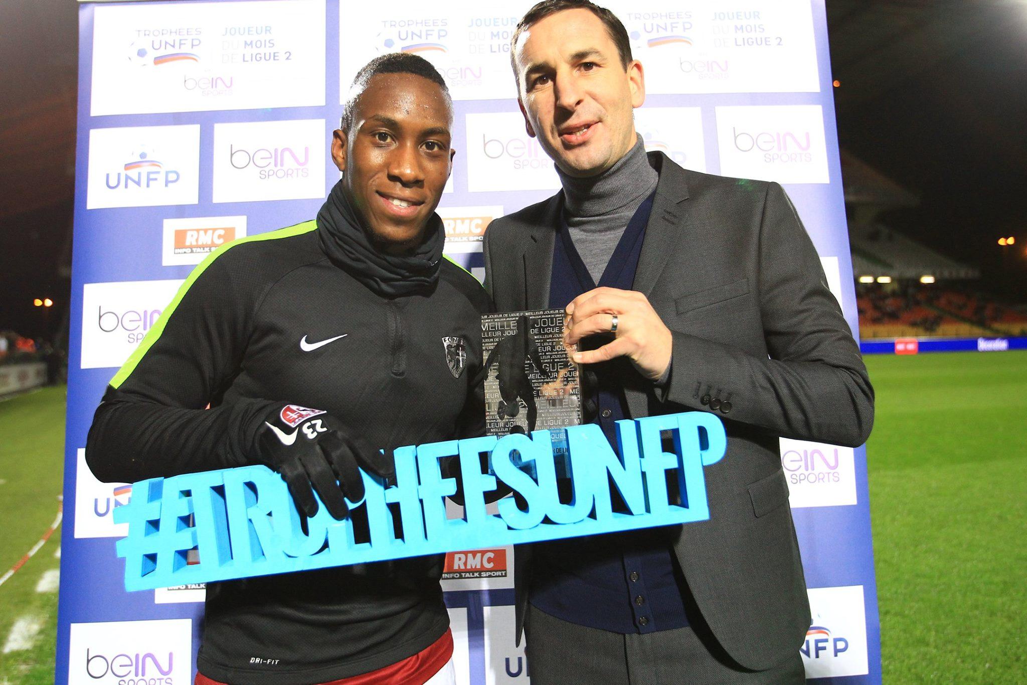 Yeni Ngbakoto, meilleur joueur de Ligue 2 pour le mois de novembre !